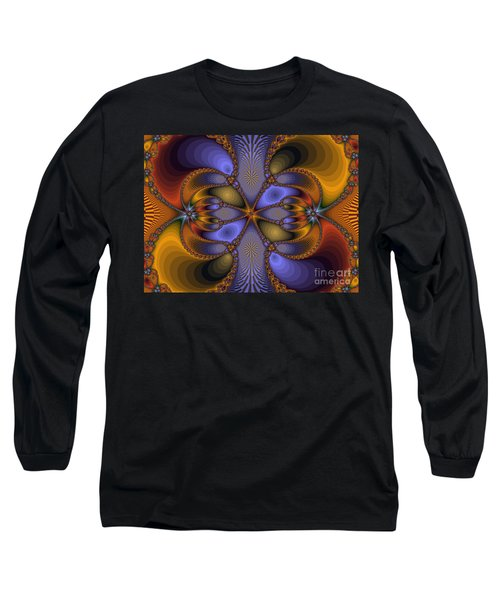 Mirror Butterfly Long Sleeve T-Shirt