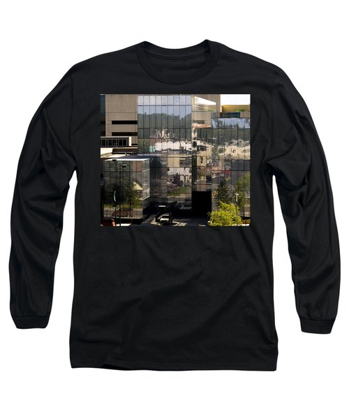 Mirroring  Long Sleeve T-Shirt by Tara Lynn
