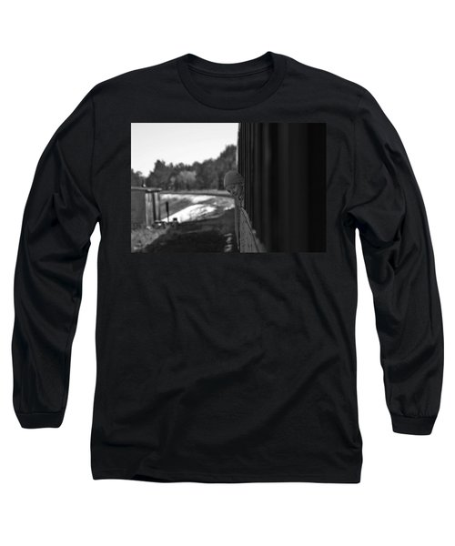 Long Sleeve T-Shirt featuring the photograph Mischief by Jeremy Rhoades