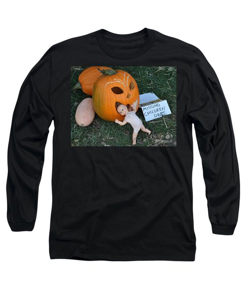 Missing Children Department Long Sleeve T-Shirt