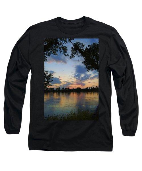 Missouri River Glow Long Sleeve T-Shirt
