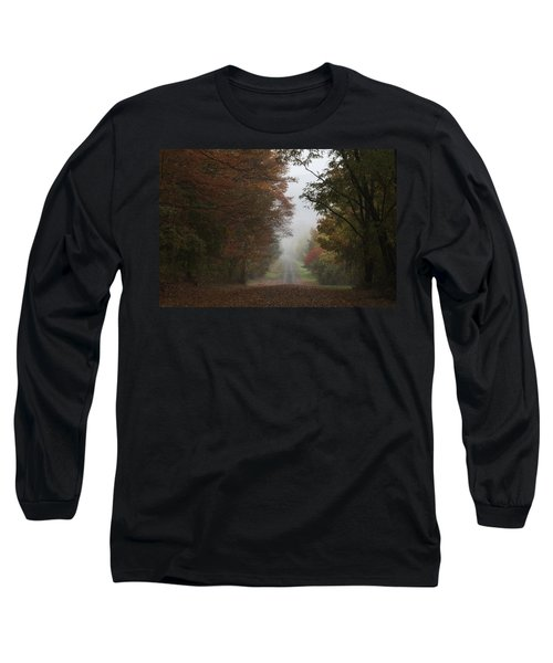 Misty Fall Morning Long Sleeve T-Shirt
