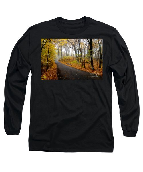 Misty Minnesota Mile Long Sleeve T-Shirt by Jacqueline Athmann