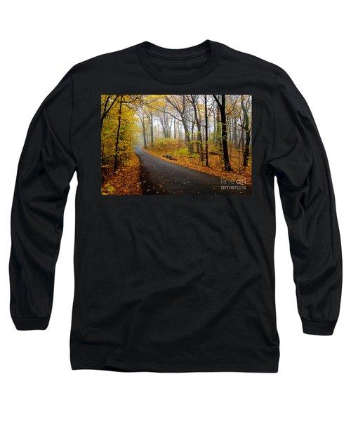Misty Minnesota Mile Long Sleeve T-Shirt