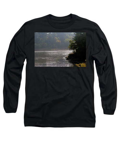 Long Sleeve T-Shirt featuring the photograph Misty Morning by Kay Novy