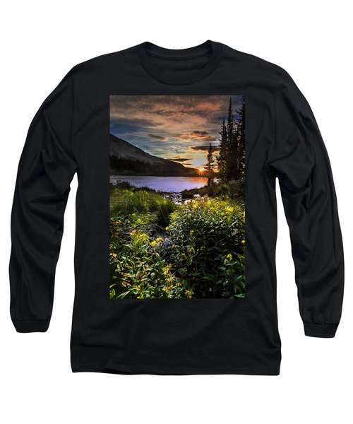 Mitchell Sunrise Long Sleeve T-Shirt by Steven Reed