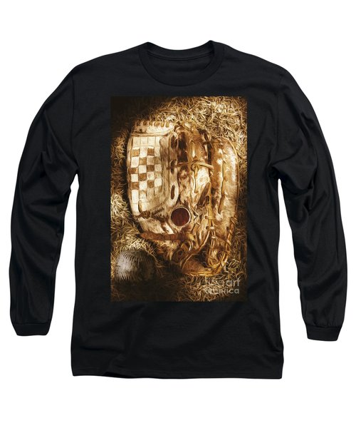 Mitts And Squiggles  Long Sleeve T-Shirt by Jorgo Photography - Wall Art Gallery
