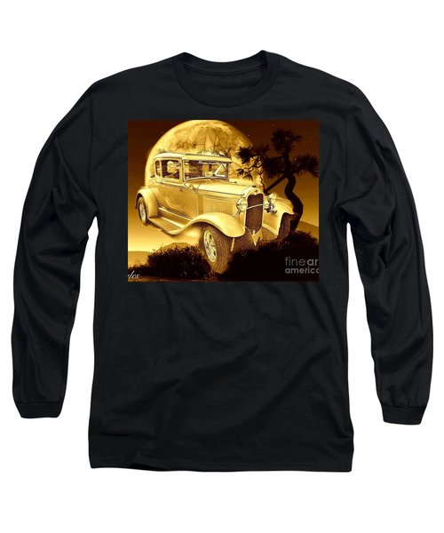 Model T Fantasy  Long Sleeve T-Shirt by Saundra Myles