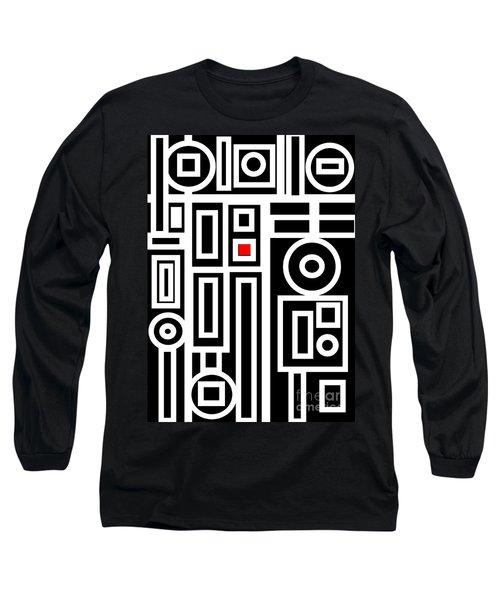 Modern Vibe 7 Long Sleeve T-Shirt by Roz Abellera Art