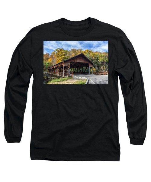 Mohican Covered Bridge Long Sleeve T-Shirt
