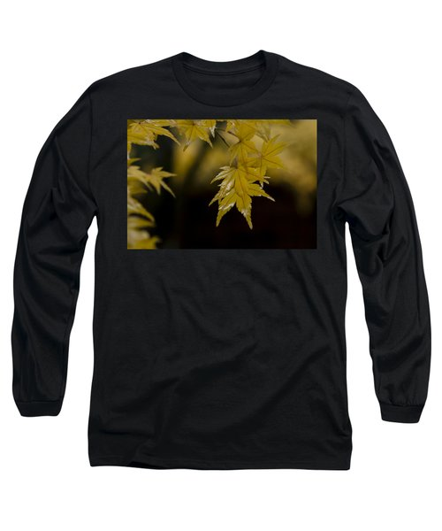 Moist Yellow Long Sleeve T-Shirt