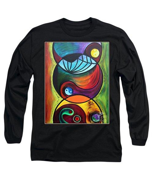 Molecules Of Emotion Long Sleeve T-Shirt