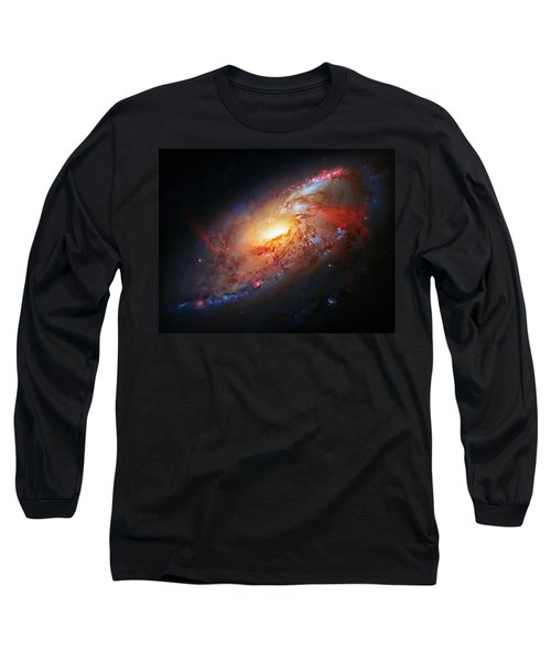 Molten Galaxy Long Sleeve T-Shirt by Jennifer Rondinelli Reilly - Fine Art Photography