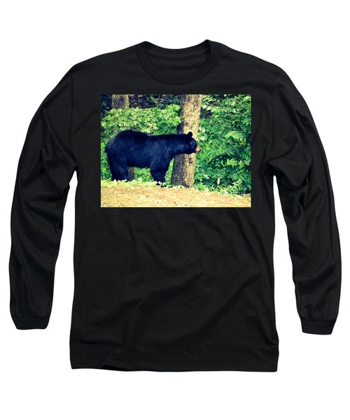 Long Sleeve T-Shirt featuring the photograph Momma Bear by Jan Dappen