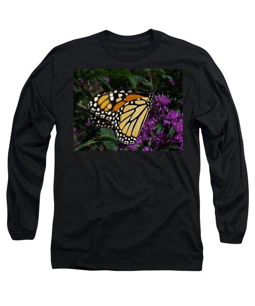 Long Sleeve T-Shirt featuring the photograph Monarch by Lingfai Leung