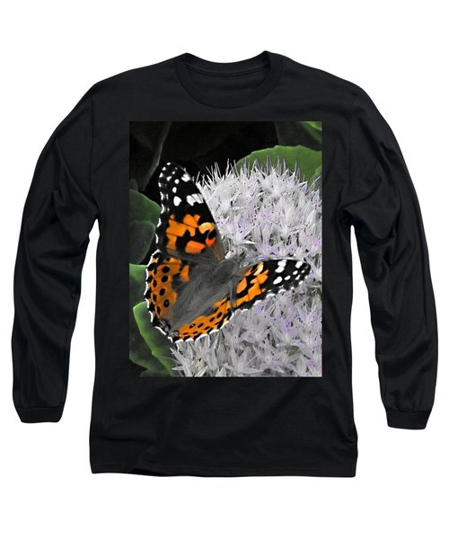 Monarch Long Sleeve T-Shirt by Photographic Arts And Design Studio