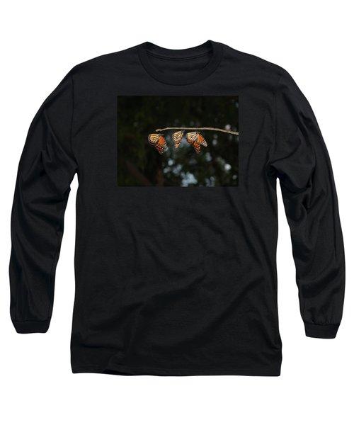 Monarch Trio Long Sleeve T-Shirt