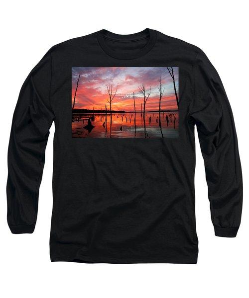 Monday Morning Long Sleeve T-Shirt by Roger Becker