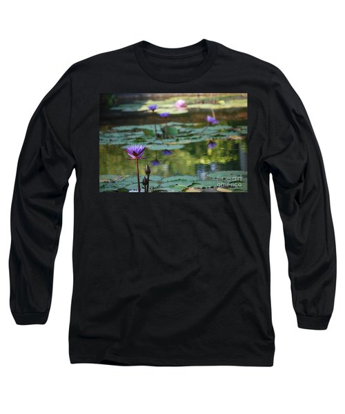 Monet's Waterlily Pond Number Two Long Sleeve T-Shirt