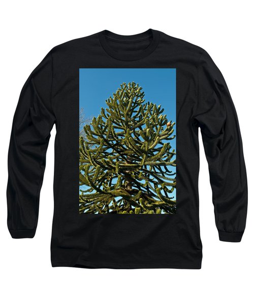 Monkey Puzzle Tree E Long Sleeve T-Shirt