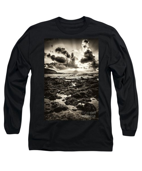 Monotone Explosion Long Sleeve T-Shirt