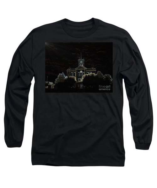 Monroe County Courthouse Long Sleeve T-Shirt