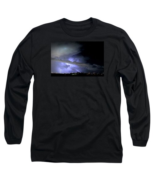 Monsoon Lightning Long Sleeve T-Shirt