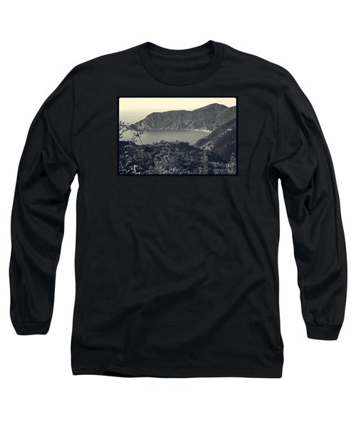 Monterosso Al Mare From Above Long Sleeve T-Shirt