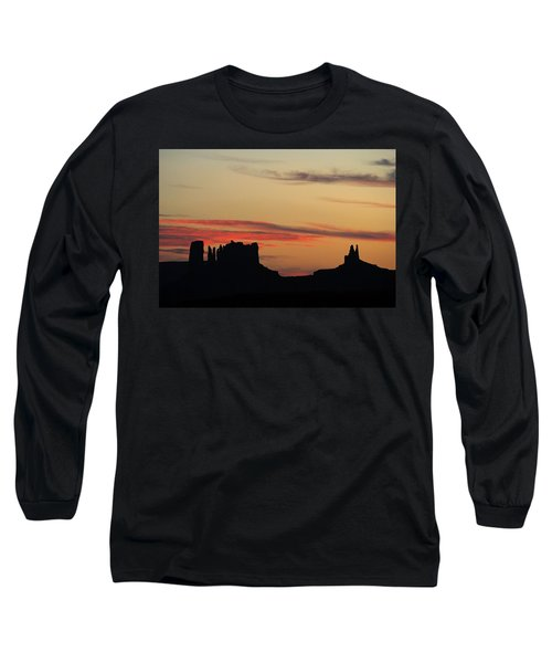 Monument Valley Sunset 1 Long Sleeve T-Shirt