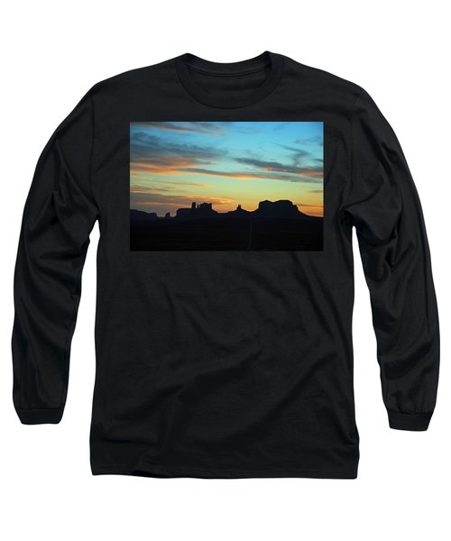 Monument Valley Sunset 4  Long Sleeve T-Shirt