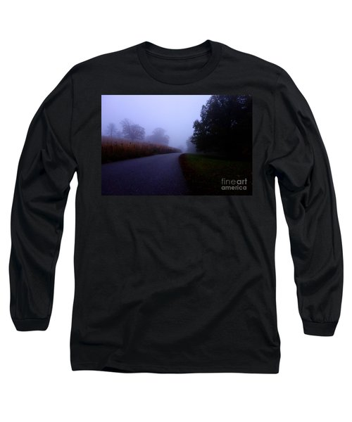 Moody Autumn Pathway Long Sleeve T-Shirt