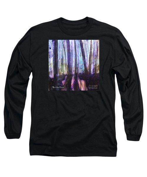 Moody Woods Long Sleeve T-Shirt by Robin Maria Pedrero
