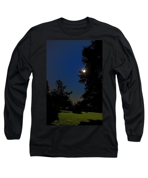 Long Sleeve T-Shirt featuring the photograph Moon And Pegasus by Greg Reed