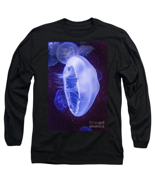 Moon Jellyfish - Aurelia Aurita Long Sleeve T-Shirt