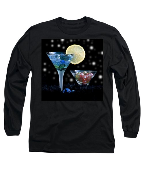 Moon Light Cocktail Lemon Flavour With Stars 1 Long Sleeve T-Shirt