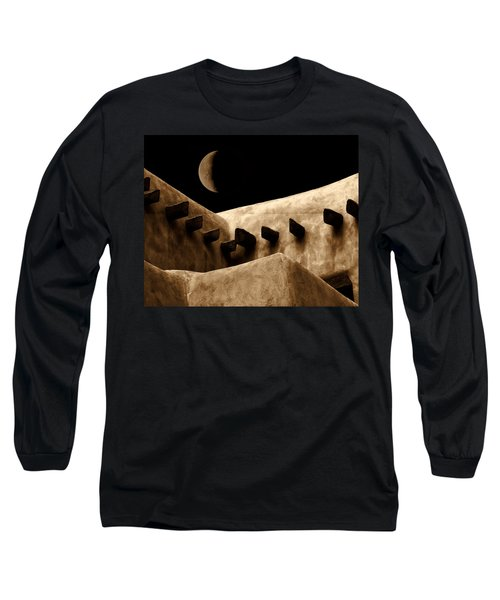 Moon Over Santa Fe Long Sleeve T-Shirt