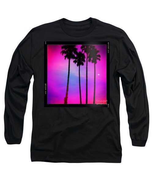 Moon Palms Long Sleeve T-Shirt