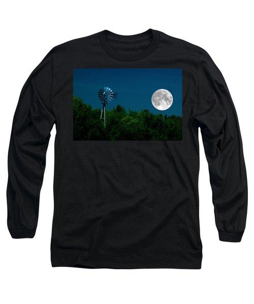 Moon Risen Long Sleeve T-Shirt