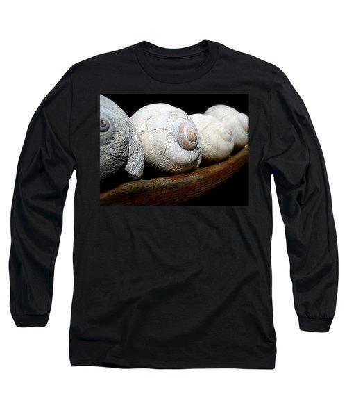 Moon Shells Long Sleeve T-Shirt by Micki Findlay