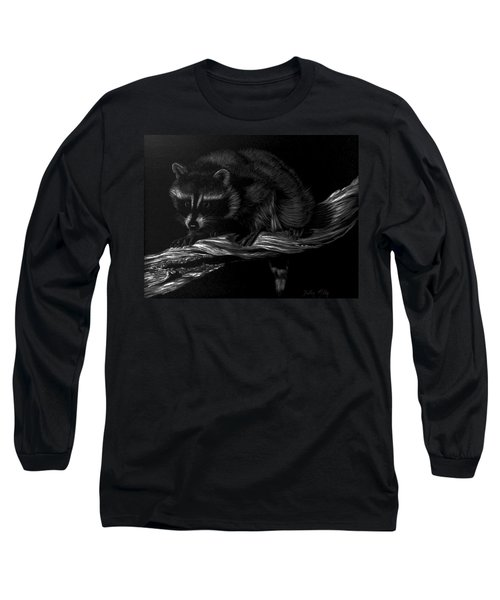 Moonlight Bandit Long Sleeve T-Shirt by Dustin Miller
