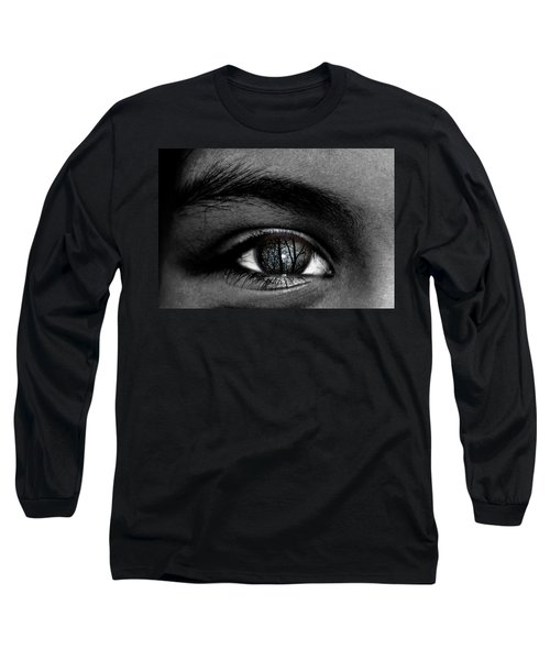 Moonlight In Your Eyes Long Sleeve T-Shirt