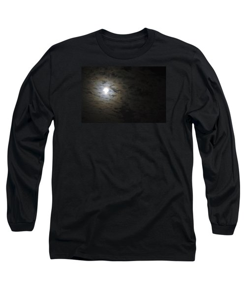 Long Sleeve T-Shirt featuring the photograph Moonlight by Marilyn Wilson
