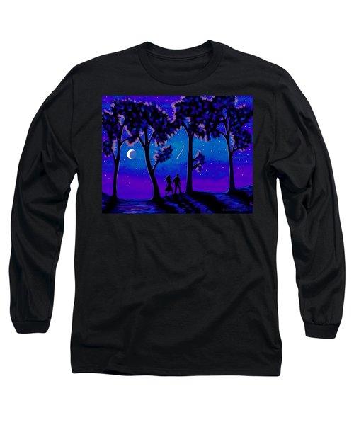 Moonlight Walk Long Sleeve T-Shirt