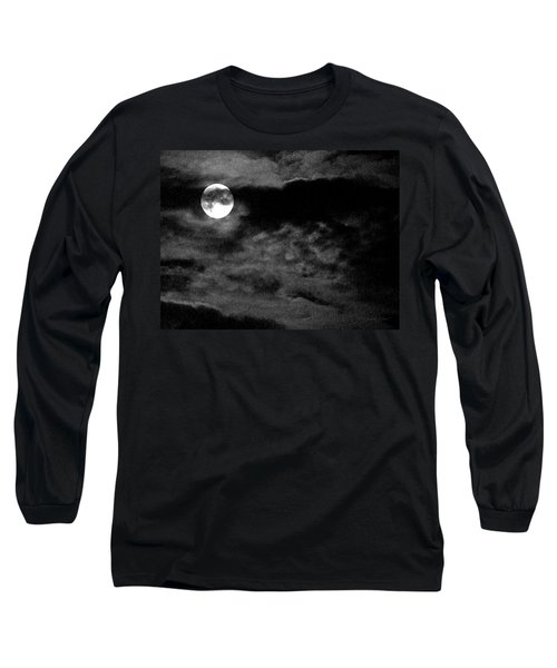 Moonlit Clouds Long Sleeve T-Shirt