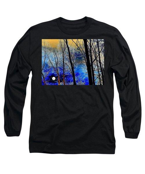 Moonlit Frosty Limbs Long Sleeve T-Shirt