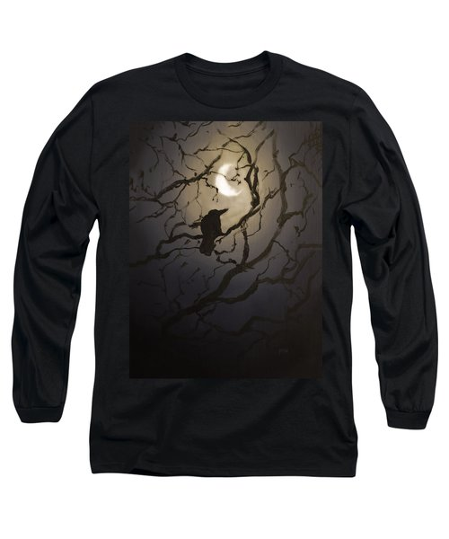 Moonlit Perch Long Sleeve T-Shirt