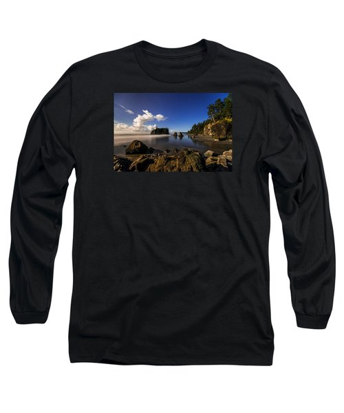 Moonlit Ruby Long Sleeve T-Shirt by Chad Dutson