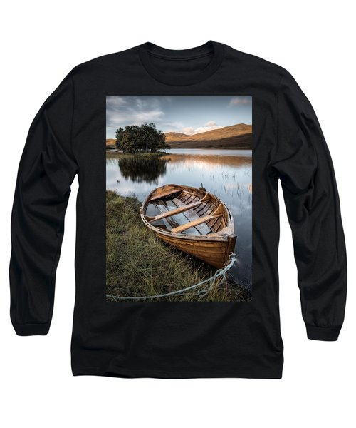 Moored On Loch Awe Long Sleeve T-Shirt