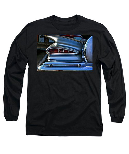 More Curves Than Marilyn Long Sleeve T-Shirt by Linda Bianic