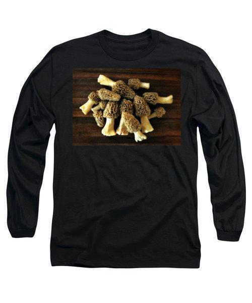 Morel Mushrooms Long Sleeve T-Shirt